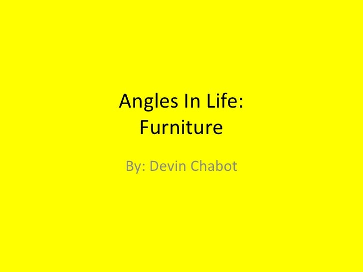 Angles In Life