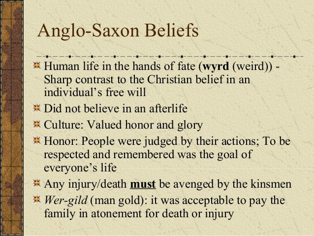 anglo saxon christian heroes essay The second important trait of anglo-saxon literature is christian idealsin adapting to christianity, the anglo-saxons also fit their literary heroes to the new religion.