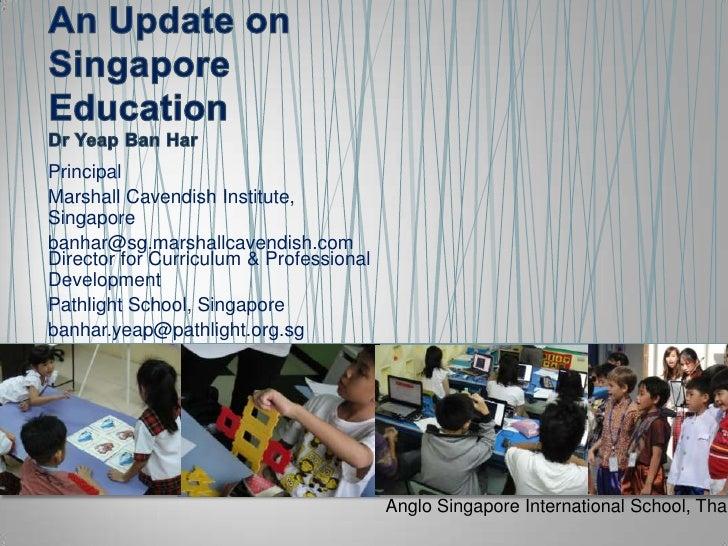 Anglo Singapore Parents' Seminar