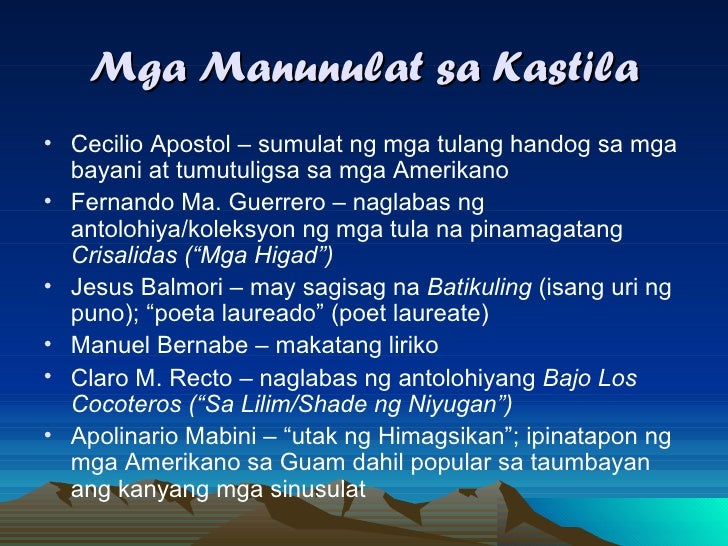 tula ng panahon ng katutubo Panitikang pilipino noong panahon ng katutubo at panahon ng  english translation and examples halimbawa ng tula sa panahon ng kastila, examples of poems.
