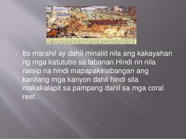 ang pagdating ng mga kastila sa pilipinas Sinabi din sa akda na hindi totoong aksidente ang pagdating ng mga amerikano sa pilipinas.