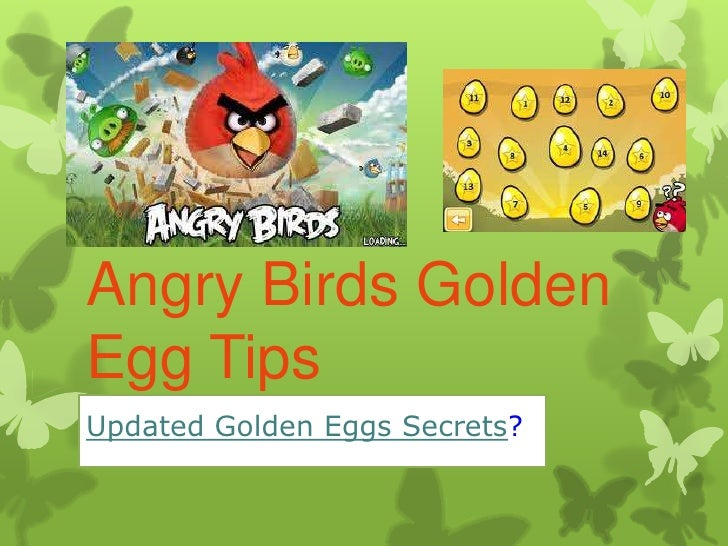 Angry Birds Golden Egg Locations