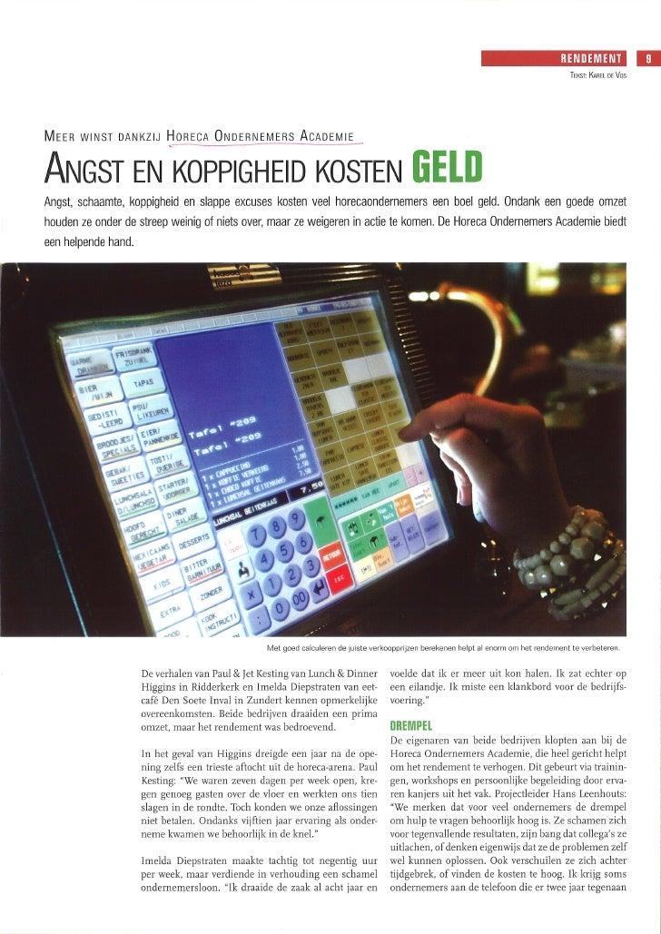Angst En Koppigheid Proost 2007