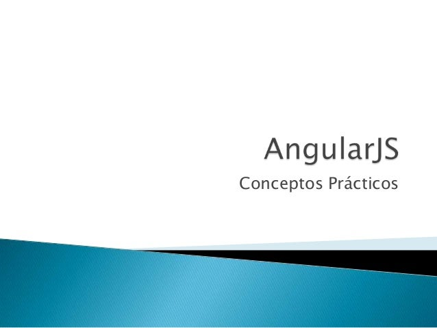 Angular Conceptos Practicos 1