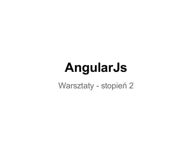 Angular js   warsztaty stopień 2