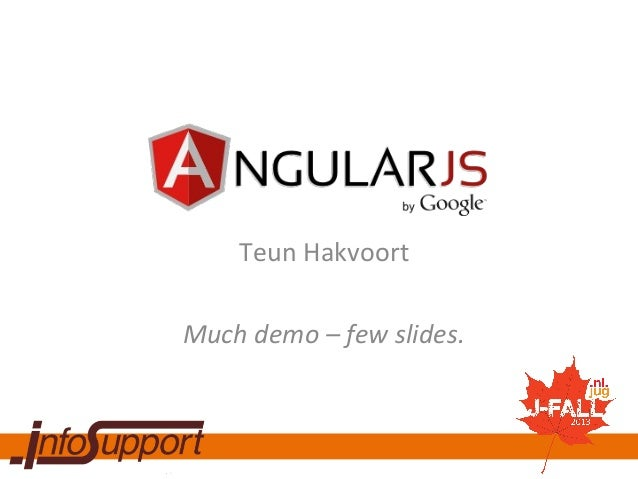 JavaScript applicaties voor Enterprise met AngularJS