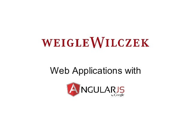 Web Applications with
