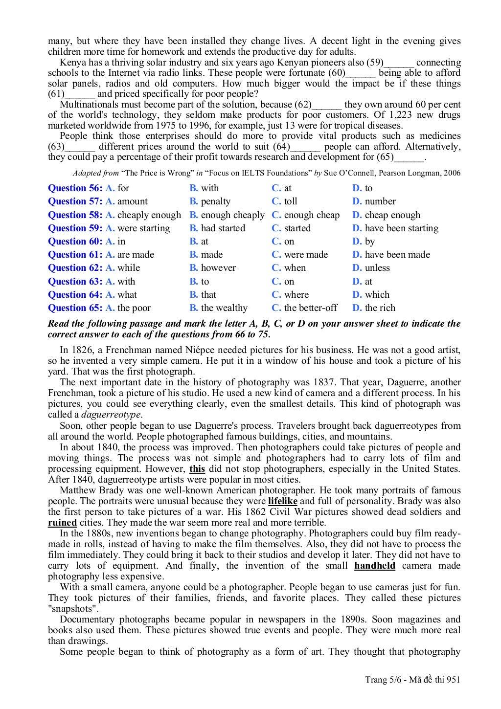 thi thu tieng anh khoi a1 nam 2013 trang 5