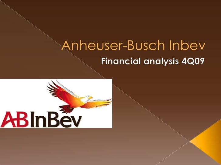 Anheuser-BuschInbev<br />Financial analysis 4Q09<br />