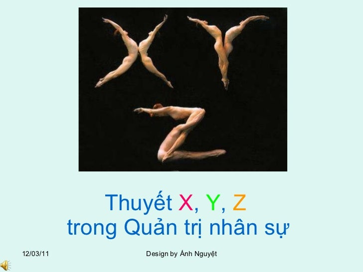 Anh nguyet thuyet x, y, z