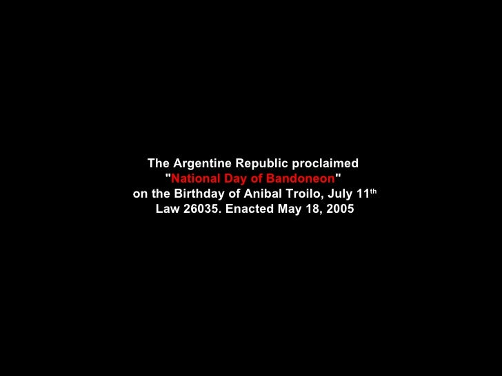 Anibal Troilo. Responso.English.Tr