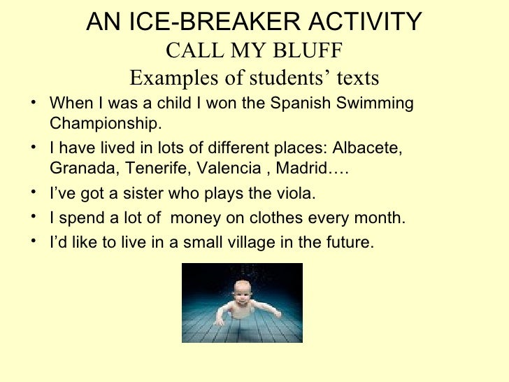 Small group icebreakers for bible study groups