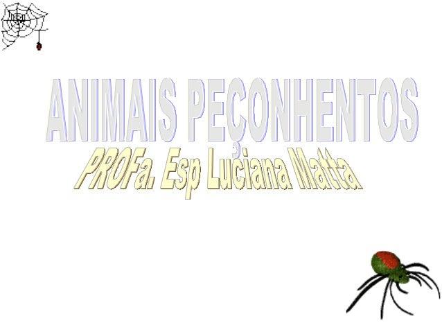ANIMAIS VENENOSOS X PEÇONHENTOS Animais Venenosos – são aqueles que possuem veneno, mas são desprovidos de aparelho inocul...
