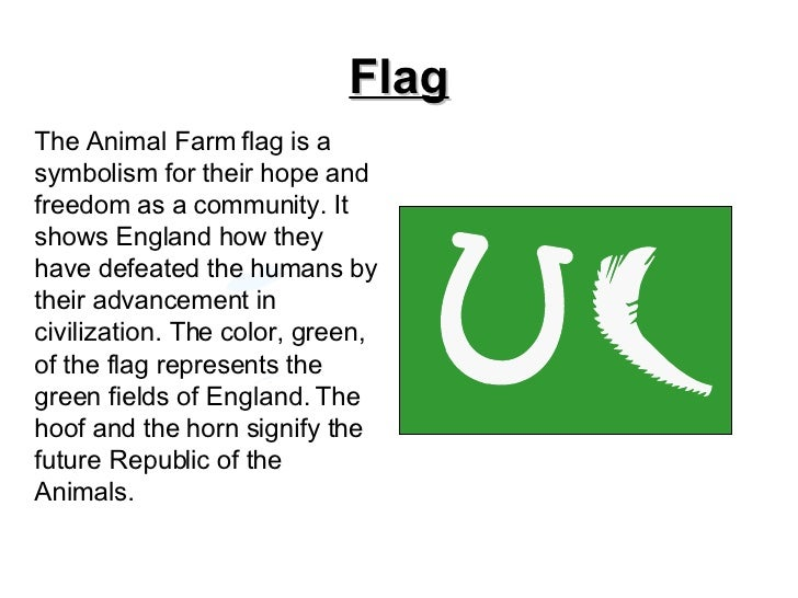 symbolism in animal farm Analysis and explanation of major symbols and themes in animal farm by george orwell.