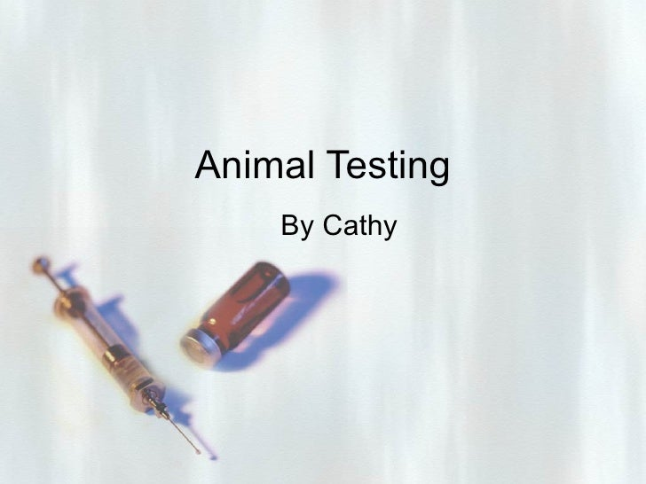 Animal Testing By Cathy