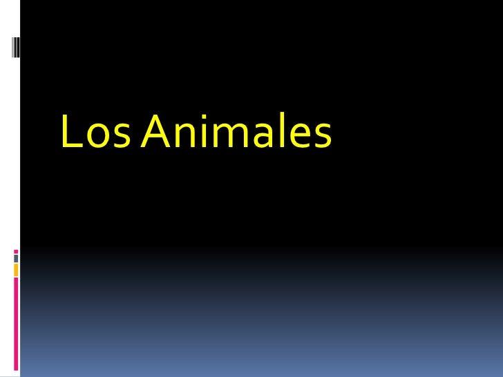 Los Animales <br />