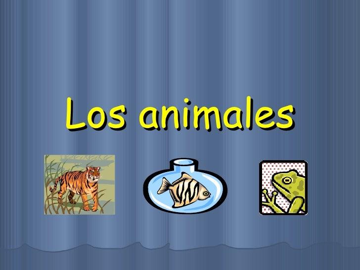 Los animales