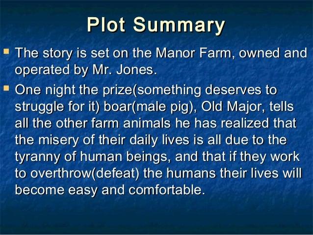 animal farm chapter summaries pdf