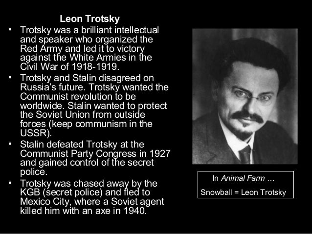 Trotsky And Stalin Animal Farm