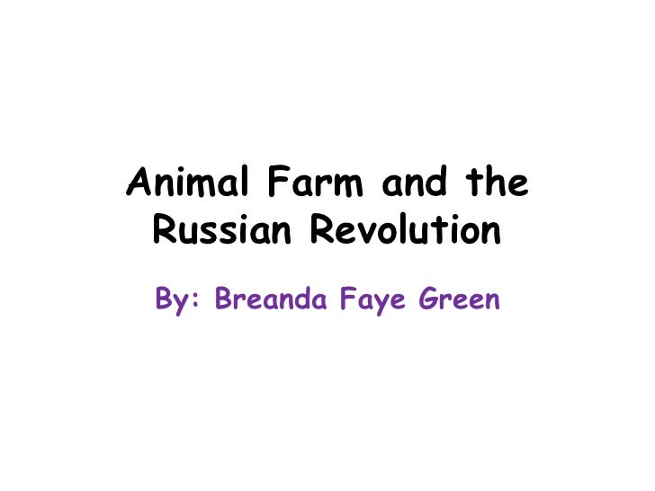animal farm compared to the russian Freebooksummarycom ✅ animal farm and russian revolution there have been many books that have criticized politics one of those books is george.