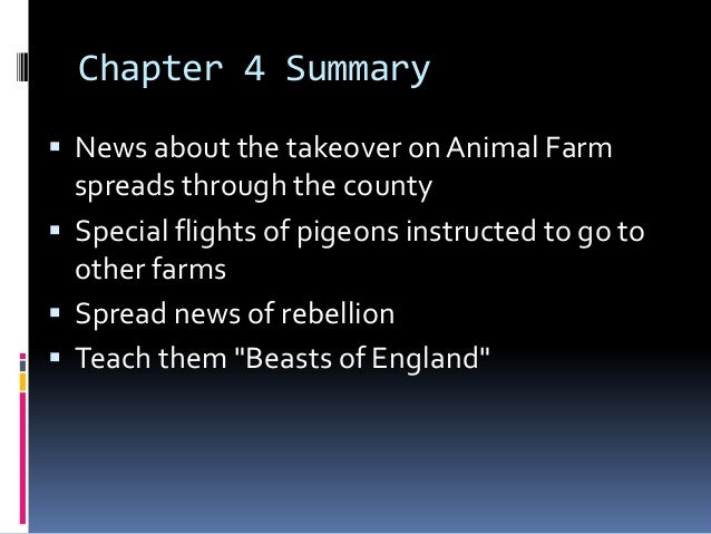 animal farm chapter 5 George orwell's animal arm a study guide teacher's book animal farm: a study guide - teacher's book i teachers before you begin this module with your students: animal farm relates very closely to the russian revolution while reading this novel with the students, there will be many instances where the book relates to.