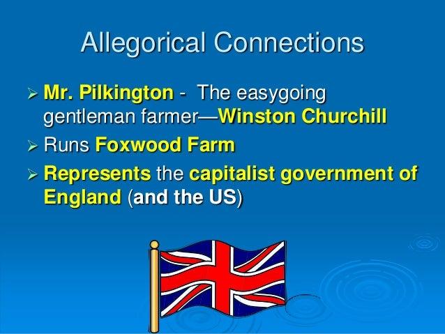 Winston Churchill animal farm