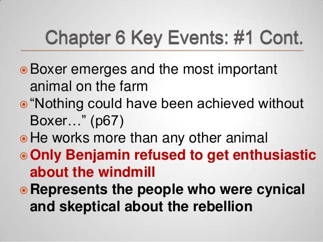 animal farm and the importance of They adopt the seven commandments of animalism, the most important of which is, all animals are equal the animals of animal farm are terrified of frederick.