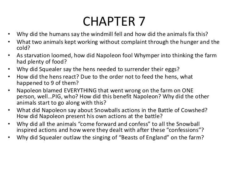 animal farm essay topics