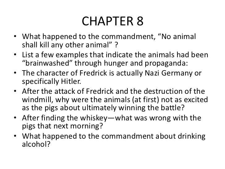 animal farm study questions chapter 6 10 essay