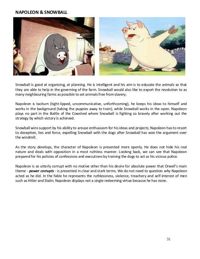 animal farm speech snowball