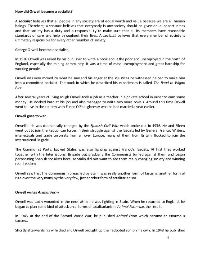 animal farm analysis essay essay Animal farm essay george orwell an analysis of eric arthur blairs writing communist societies, like animal farm.