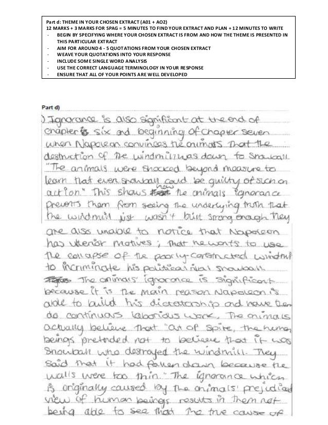 How to write an literary essay about an extract of a famous novel?
