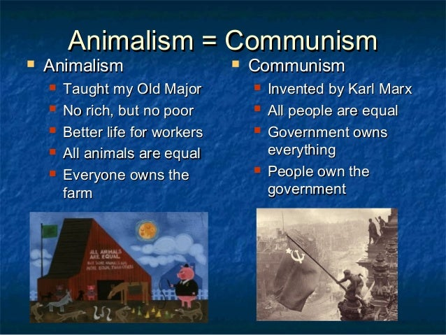 animal farm movie summary