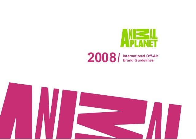 Animal Planet Manual da Marca 2008