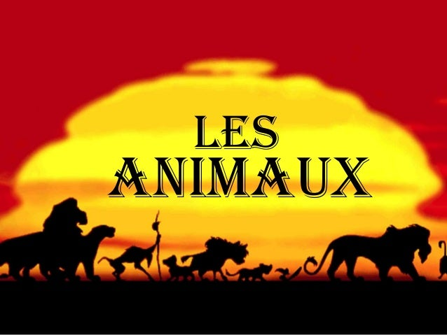 animaux Les