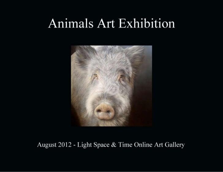 Animals 2012 Art Exhibition Event Catalogue