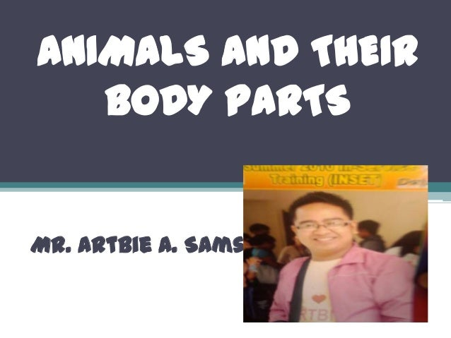 ANIMALS AND THEIR BODY PARTS Mr. Artbie A. Samson