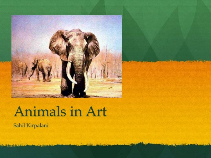 Animals in art timeline by Sahil