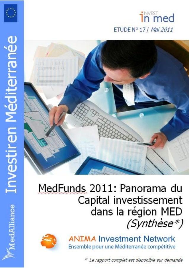 MedFunds 2011: Panorama du capital-investissement en Méditerranée