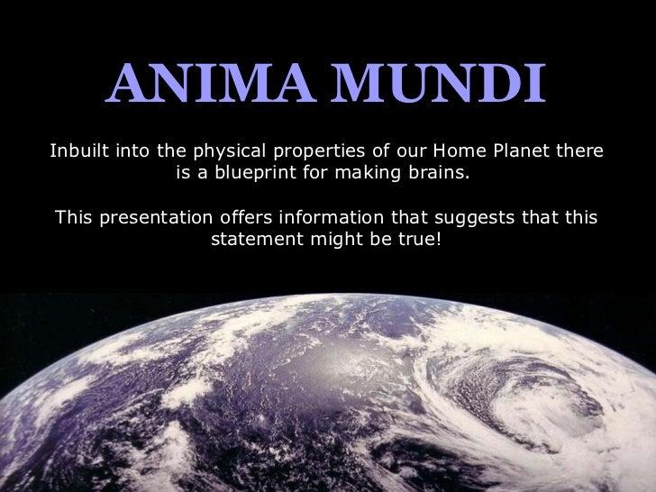 Anima Mundi for Astrologers