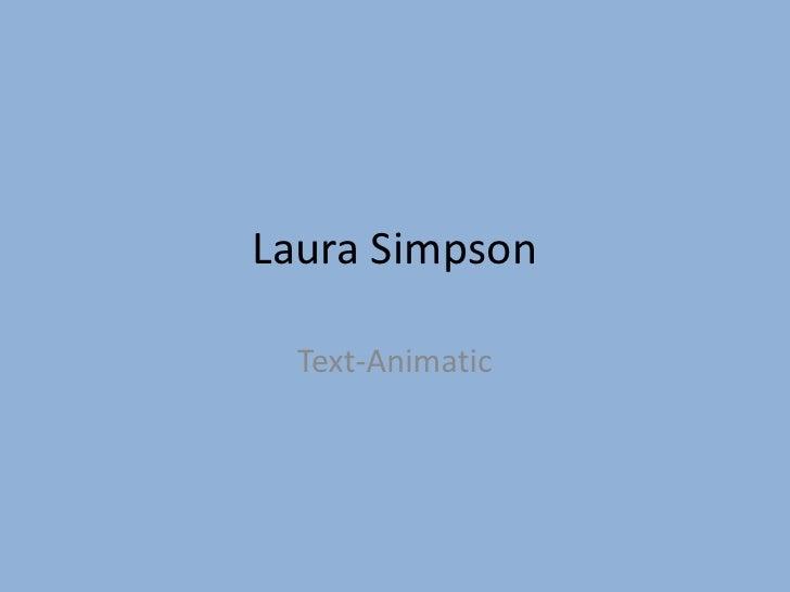 Animatic Presentation Simpl