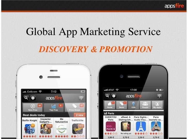 Global App Marketing Service  DISCOVERY & PROMOTION