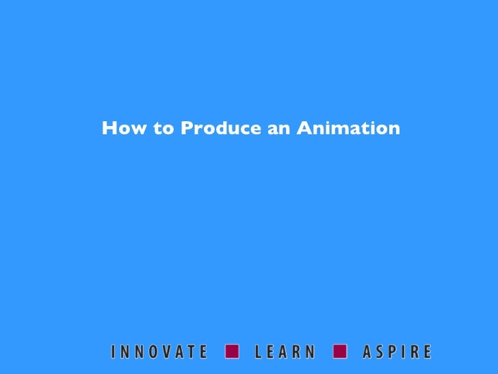 Animation - What, Why and How?