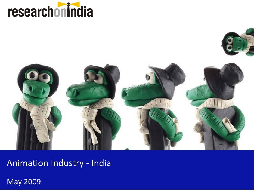 Animation Industry - India - Sample
