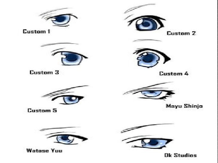 anime ojos hombre: Ojos Anime Hombres