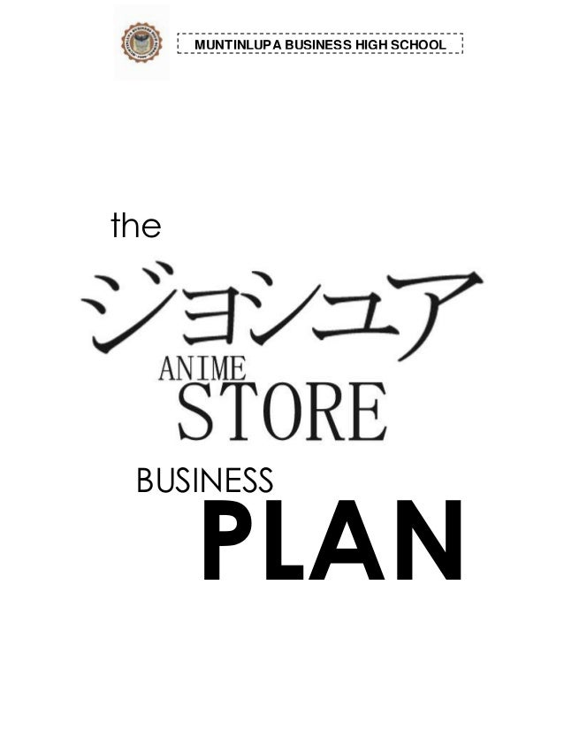 Buy a business plan for school