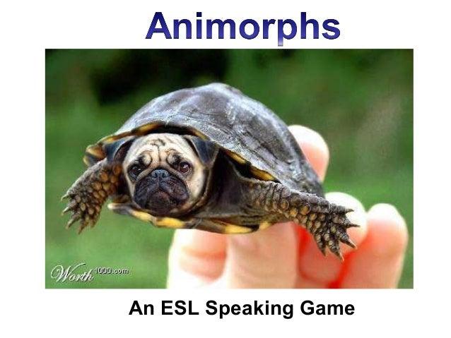 Animorphs: ESL Speaking Game