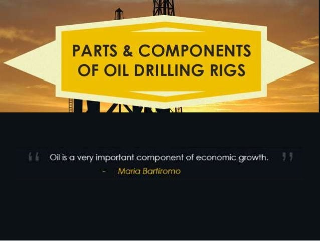 An Infographic on Parts and Components of Oil Drilling Rigs