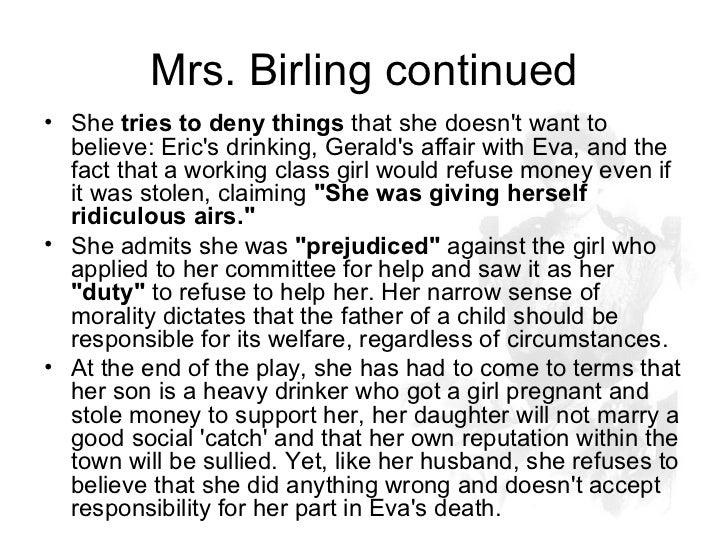 Essay plan for mr birling