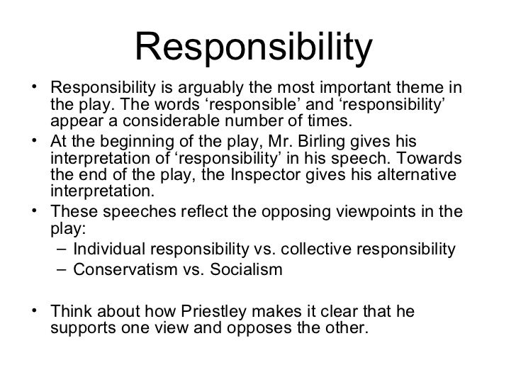 Essay About Responsibility